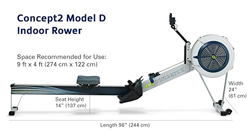 Concept2 Model D with PM5