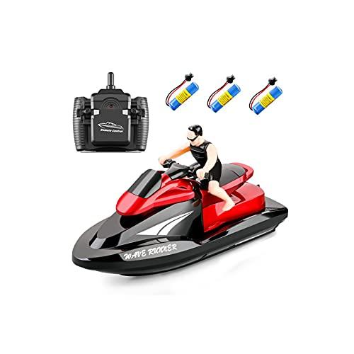 Motore Giocattolo Imitazione Coccodrillo per Flytec V005 Elica per Barca radiocomandata Accessorio per Motore Elettrico Accessori per Barca RC per Uomo Barca RC Flytec V005 per Esterno