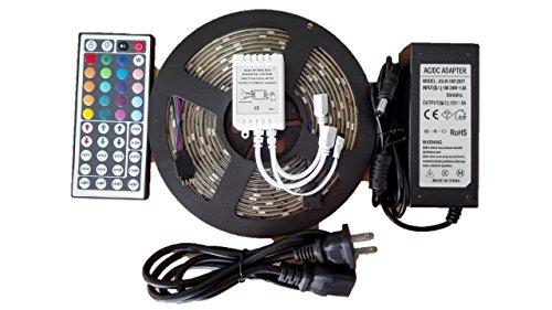 【ノーブランド品】LED 100V 5050 RGB 150連(5m) LEDテープライトセット