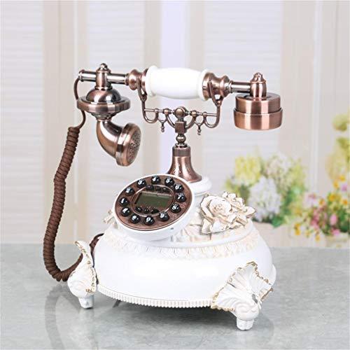 SXRDZ Sala de Estar de Estilo Europeo Teléfono Antiguo Dormitorio Home Dormitorio Creativo Retro Avión de teléfono Fijo.