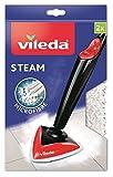Vileda Ersatzbezug für Steam, Dampfreiniger und 100 Grad Hot Spray, 2x 1 Stück