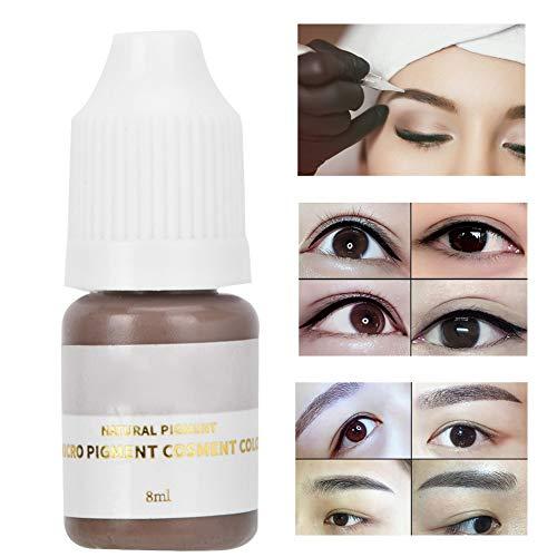 Pigments Tattoo Tatouage permanent de pigments pour maquillage à usage professionnel uniquement Microblade sourcil, lèvre, micro-pigment pour eye-line