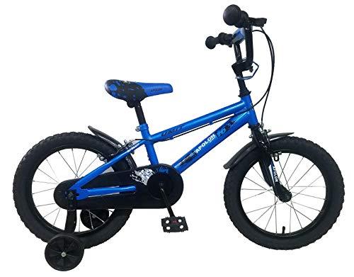 Umit Fahrrad, 16 Zoll, Apolon, Blau, Kinder