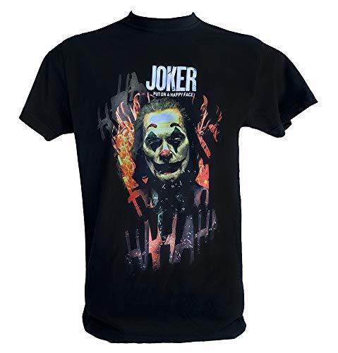 Desconocido T Shirt Joker 2019 Hombre Niño Joaquin Phoenix Put On Happy Face Joker Pelicula, Niño 1-2 Años