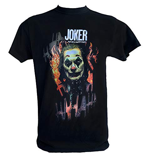 Desconocido T Shirt Joker 2019 Hombre Niño Joaquin Phoenix Put On Happy Face Joker Pelicula, Hombre - S