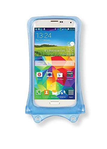 Acer Liquid Jade Z, M320, Z320, Z520, Zest Handyhülle/Handytasche - wasserdicht - Blau (Doppel-Klettverschluss, IPX8-Zertifizierung zum Schutz vor Wasser bis 10 m Tiefe)