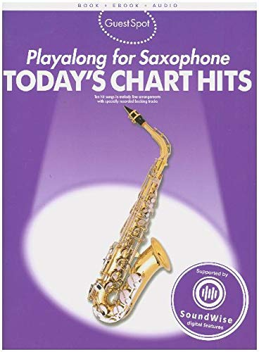 Playalong For Saxophone - Today's Chart Hits