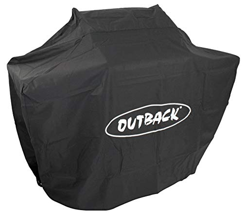 Outback Premium Cover to fit Dual Fuel 4 BBQ Combi OUT370641 (WxDxH): 202.2 x 75 x 123 cm Protective BBQ Cover