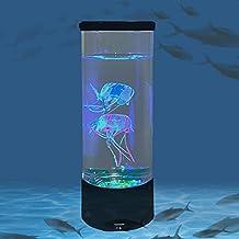 Home lampa stołowa meduzy światło kolorowe zmiana kolorów atmosfera światło gwiaździste niebo dekoracja LED światło nastro...