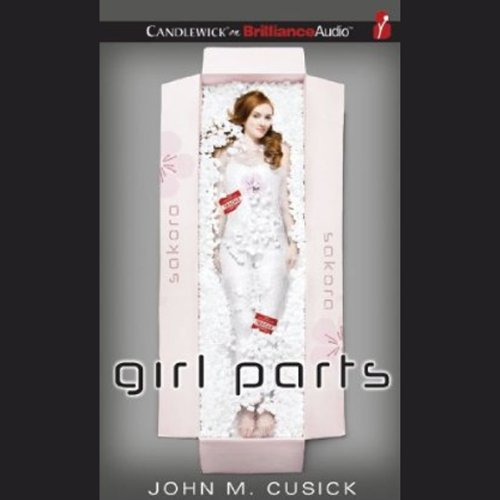 Girl Parts audiobook cover art
