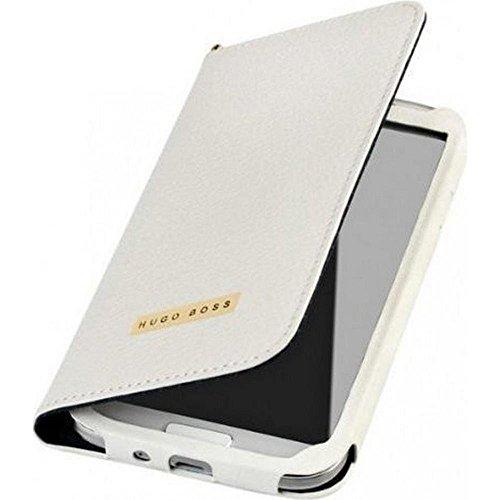 Hugo Boss Gracious Booklet Case weiß für Samsung Galaxy S4 I9500 / I9505
