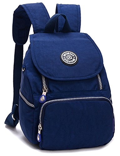 Estwell Women Girls Small Backpack Handbag Waterproof Nylon Shoulder Bag Travel Bag Casual Daypack