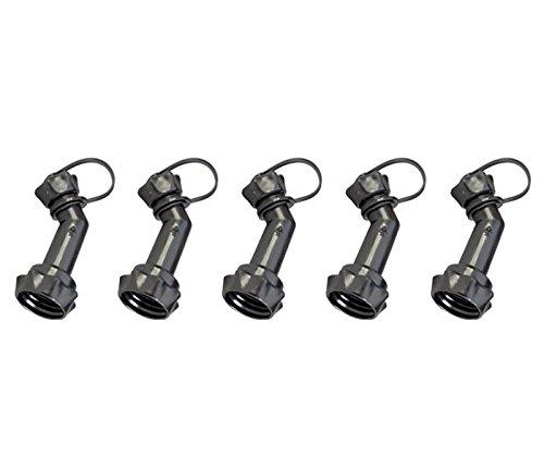 hünersdorff 5 Stück Auslaufrohr verschließbar für FuelFriend Kanister ab 1,0 Liter