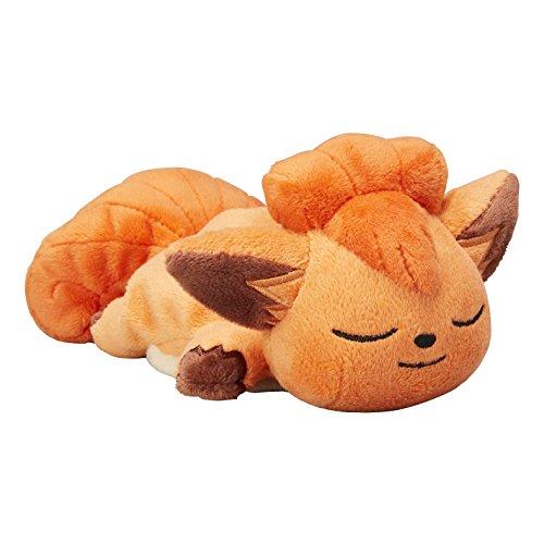 Pokemon Center Original Sleeping Kuttari Vulpix (Rokon) Stuffed Beanbag Poke Doll Plush (6.5-Inch)