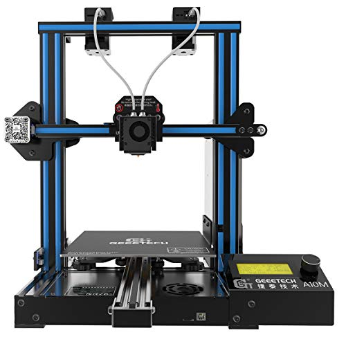 Geeetech 3D Printer A10M Mix-Color Prusa I3 220×220×260 mm³ Print Size with Dual...