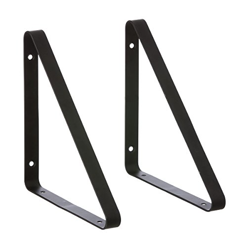 Ferm Living Shelf Hangers Regal, Metall, schwarz, 24,5cm, 3