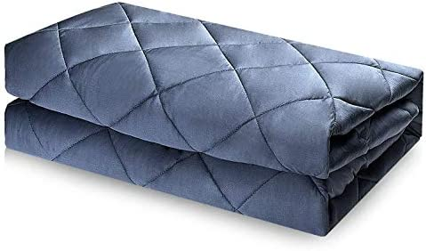 100/% Bamboo Fabic and Glass Beads Great Gift for Lovers YOLIPULI Bamboo Weighted Blanket 15 pounds for Adult and Kids