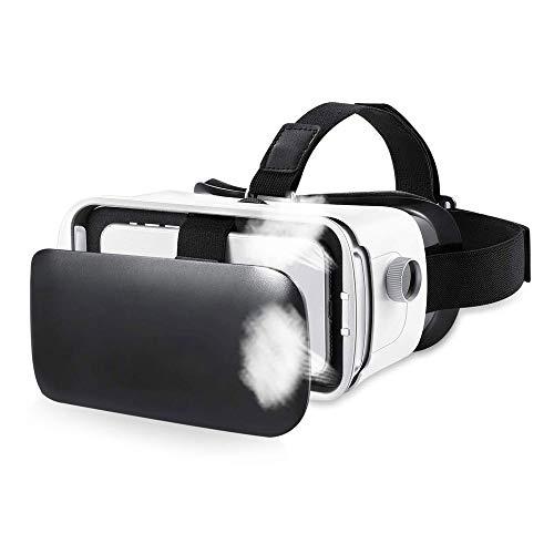 QCHEA VR3D Occhiali da Vista, Secondi nella Realtà virtuale, VR Goggles, for 100 ° VR Film Videogiochi, for Tutti i telefoni cellulari, l'esperienza Virtual Worlds Anytime Anywhere