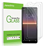 Janmitta Screen Protector for Sony Xperia 1 II [3 Pack], 9H