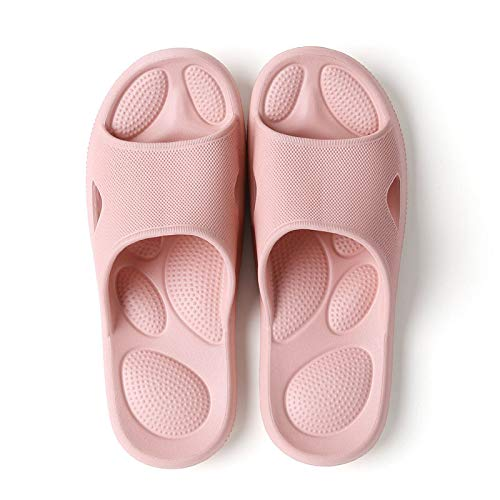 QXbecky Masaje Desodorante Antibacteriano Antideslizante Verano Zapatillas de baño caseras japonesas
