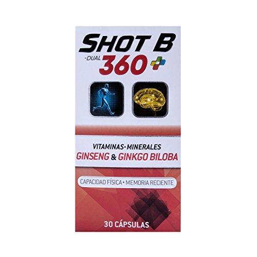 Shot B Dual 360 Cápsulas, 30 Piezas