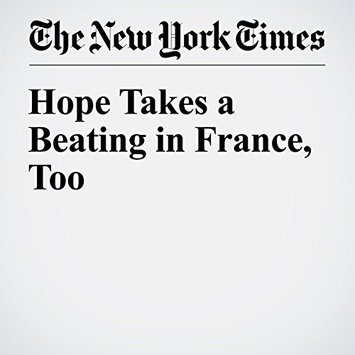 Hope Takes a Beating in France, Too audiobook cover art