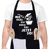 upain Kochschürze für Männer Grillschürze Baumwoll Lustig Küchenschürze Verstellbarem...