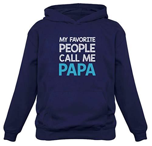 TeeStars - My Favorite People Call Me PAPA - Best Gift for Grandpa Hoodie X-Large Blue