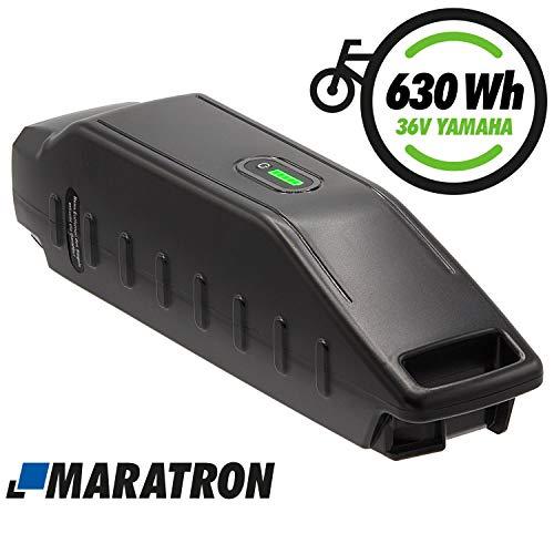 Maratron E-Bike Akku 36V 17,5Ah 630Wh Li-Ion - Ersatz für Yamaha Haibike, Winora, Batavus u.a.