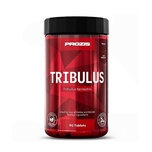 Prozis Tribulus Terrestris 1000mg 90 tabs Naturel Source d'énergie naturelle - Augmente la libido et l'endurance - Améliore la croissance musculaire et la performance sexuelle
