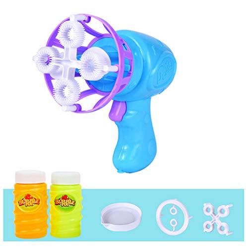 ZZALLL Máquina de Burbujas automática eléctrica Mini Ventilador para Hacer Burbujas, Juguetes para niños