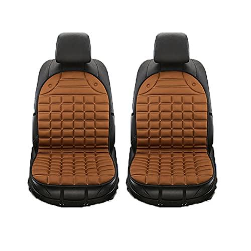 Cojín de asiento con calefacción de automóviles, Cubiertas de asientos con calefacción con calefacción de 12V universal, calentador calentador, cojín para el hogar, Cojín de asiento con calefacción de