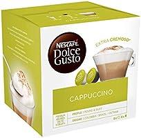 Nescafé Dolce Gusto Cappuccino - Café Gourmand - 16 Capsules (1 boîte x 16)
