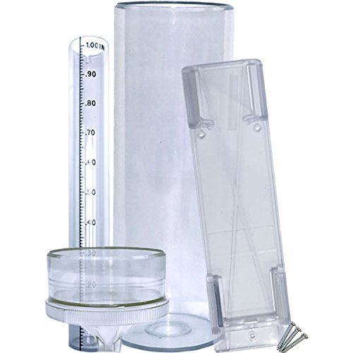 "Stratus Precision Rain Gauge with Mounting Bracket (14"" All Weather)"
