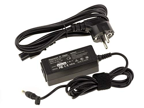 Power4Laptops - Fuente de alimentación para portátil Asus AD59930 Eee PC 700 701 702 800 801 701SD 2G 4G 8G (9,5 V, 2,5 A, 1,7 x 4,8 mm)