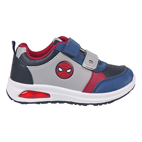 CERDÁ LIFE'S LITTLE MOMENTS Cerdá-Zapatilla con Luces Spiderman de Color Rojo, 30 EU