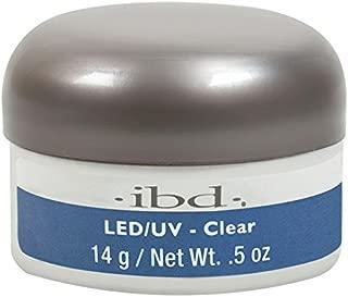 IBD LED/UV Gels, Clear 0.5 oz
