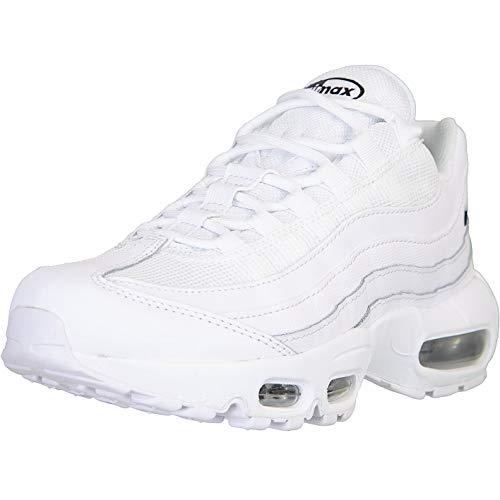 Nike Air Max 95 Essential Women Sneaker (White/White, Numeric_42)