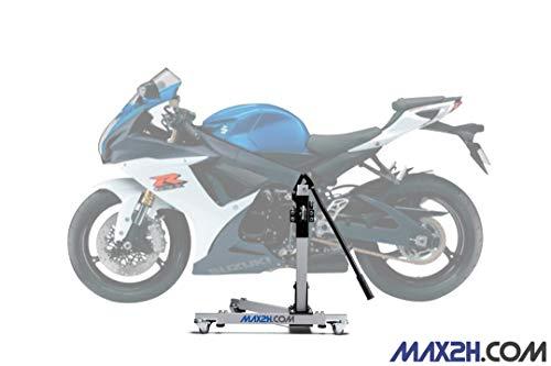 MAX2H.COM Motorrad Zentralständer, Hebebühne EVOLIFT für Suzuki GSX-R 750 06-10, mit Rollen