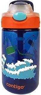 Contigo 康迪克 儿童卡通塑料防漏水杯-鲨鱼款 414ml