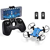 HELIFAR X1 FPV Drone Mini RC Quadcopter with Camera 2.4GHz 6-Axis Gyro...