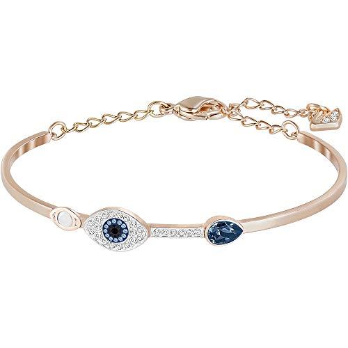 Swarovski Damen-Armreif Metall Swarovski Kristalle One Size 86841622