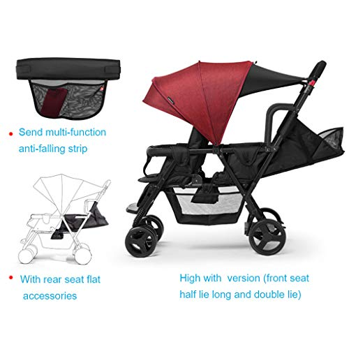 Fantastic Prices! Twin Baby Stroller, Second Child Double Stroller, Big Child Trolley,Baby Stroller,...