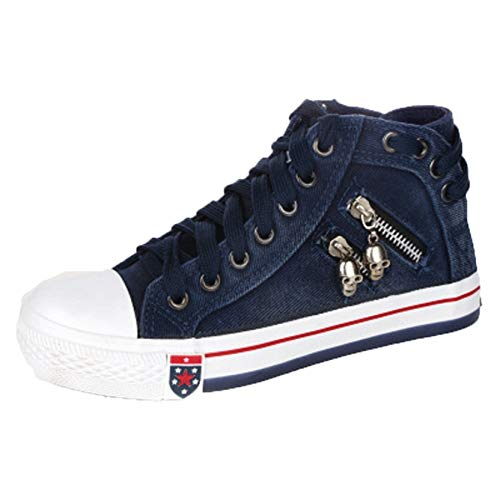 Zapatos de Lona para Mujer, Zapatos Planos con Cordones Transpirables, Zapatos Casuales con Estilo Antideslizantes Vintage, Zapatos vulcanizados