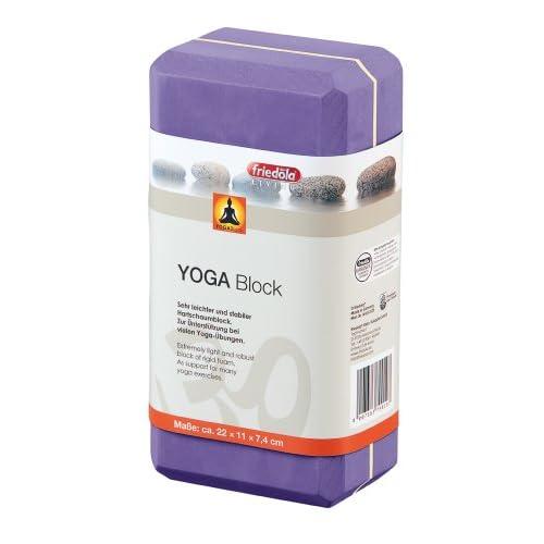 friedola 74044 - Blocco per Lo Yoga, Colore: Rosso Porpora