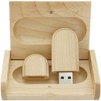 yaxiny 16 GB 3.0 de Arce Madera Unidad flash USB con caja de ...