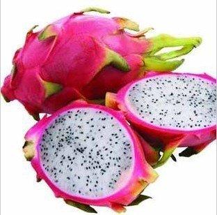 50pcs Pitaya, semillas Fruta blanca del dragón, (/ Pitahaya / Fresa Pera Pitaya) bonsai