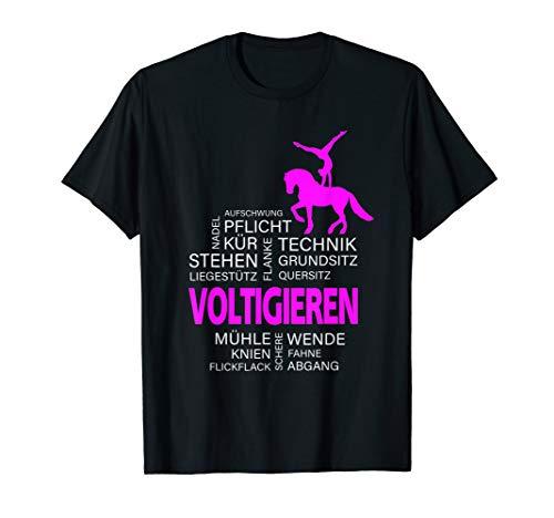 Voltigieren - Volti Begriffen aus dem Voltigier-Sport T-Shirt