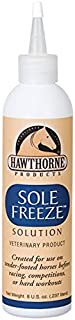 Hawthorne Products 8 Oz Sole Freeze Solution Veterinary Product for Tender Footed Horses to Harden Hoof