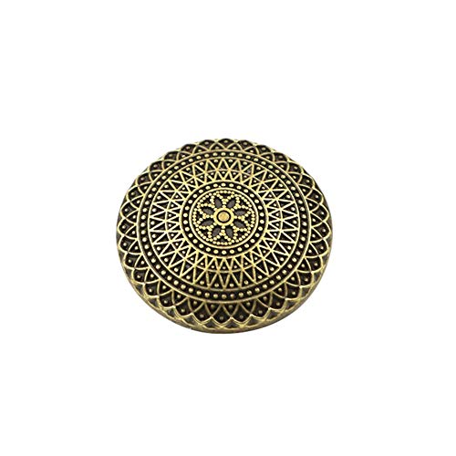 Botones de Costura de la Chaqueta del botón 10pcs de Metal para el Estilo de la Vendimia Que Hace Punto de Bricolaje Crafts Botones para Trajes de latón Antiguo Coats